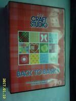 BACK TO BASICS  MY CRAFT STUDIO CD ROM