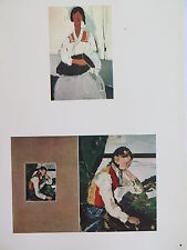 Josef Albers Original Silkscreen Folder XIX-3/Right Interaction of Color 1963