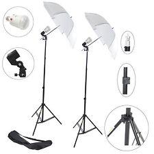 Kit Éclairage Studio Barebulb DynaSun 2x FLS60 Flash Douille Parapluie Trépied