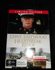 Clint Eastwood  - HEARTBREAK RIDGE Limited Edition #17622 (DVD) (New)