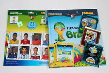 PANINI WC coupe du monde Brésil Brasil 2014 – Housse dure Deluxe Album + 71 UPDATE STICKER