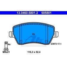 ATE Bremsbelagsatz Scheibenbremse NISSAN MICRA C+C (K12)  NISSAN MICRA III (K12)