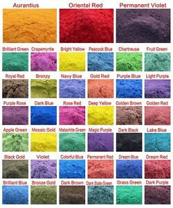 Cosmetic Grade Natural Mica Powder Soap Candle Colorant Dye Makeup Pigment 10g