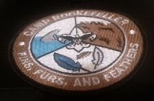 BSA Camp Rockefeller Fins, Furs and Feathers Patch