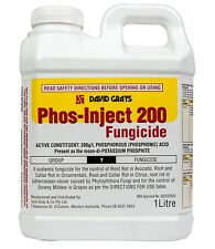Phos-Inject 200 Fungicide 1L David Grays Root Rot Collar Rot Phytophthora Mildew