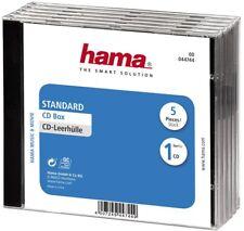 Hama 44744 CD-Leerhüllen 5 er NEU & OVP