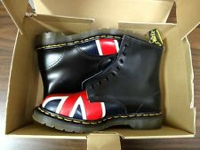 Classic 1990's Doc Martens Union Jack 8417 Boot, Men's 8, NOS In Box, Unlaced