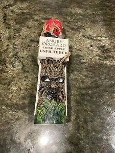 Angry Orchard Crisp Apple Unfiltered Beer Tap Handle Marker Used In Good Shape