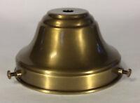 """NEW Spun Antique Brass 4"""" Fitter Fixture Shade Holder With Set Screws #SH764B"""