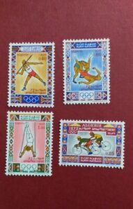 Algeria 1972 Olympic Games  Munich Germany SET MNH