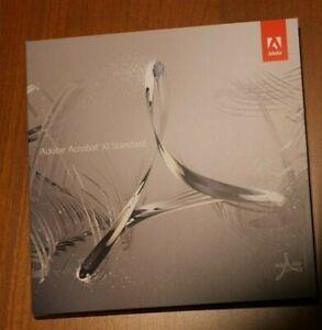 Adobe Acrobat XI Standard - DVD - Vollversion für Windows mit Seriennummer