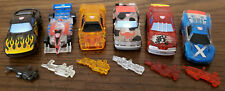 Transformers Robots In Disguise '03 Translucent Spy Changers Lot of 6 COMPLETE!