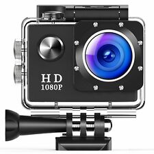 Action Camera 96FT Waterproof Sport Full HD 1080P 2.0 Inch LCD Display 140 Wide