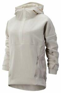 New Balance Women's Sport Style Select Heatloft Qtr Zip Grey