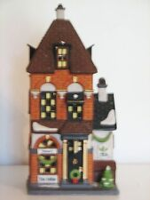 """Dept. 56 Christmas in the City """"Potter'S Tea Seller"""""""" #58808 with original box"""