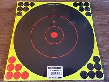 "25 x Birchwood Casey 12"" Shoot-N-C Self-Adhesive Reactive Gun Targets & Pasters"