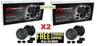 RENEGADE RX6.2C by Rockford Fosgate 6.5 INCH 2-WAY 400w CAR COMPONENT SPEAKERS