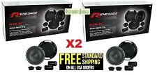 RENEGADE RX6.2C 6.5 INCH 2-WAY 400 watts CAR COMPONENT SPEAKER SYSTEM PAIR 6 1/2