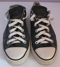 VTG Unisex Chuck Taylor CONVERSE Black Denim Lo Trainer/Shoe Size 5.5