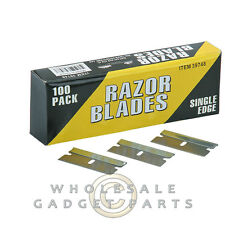 Single Edge Razor Blades 100 pack Cell Phone Repair Fix Tool Electronics