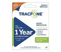 TRACFONE 400 MINUTES 365 SERVICE DAYS