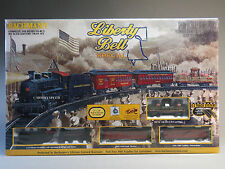 BACHMANN HO SCALE LIBERTY BELL SPECIAL SET train boston philadelphia 00711 NEW