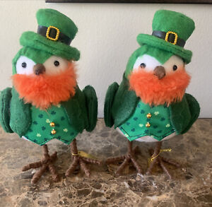 Set of 2 Target Spritz St. Patrick's Day Bird *Gently Used*
