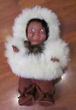 Vintage Eskimo Inuit Doll - REGAL CANADA - 28CM