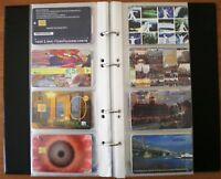 ALBUM OF 60 ANY CALLING TELEPHONE TELEFONKARTE CARDS CARTES DE PHONE 30 pages