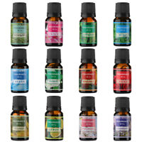 Pure Aromatherapy Oils 10Ml Choose Fragrance Aroma Natural Aroma  Air Purifie TK