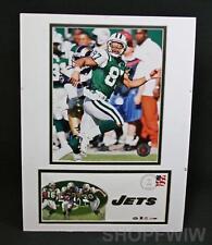 Photo File Double Matted Unframed 2 Photo NY Jets Set