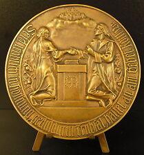 Médaille Protestant 98 mm evangelische kirche der altpreubuchen union Medal
