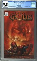 Red Goblin Red Death #1 CGC 9.8 Parrillo TRADE Variant w/ COA