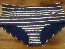 M&S COLLECTIONStriped Boyshort Bikini Bottoms Size 14