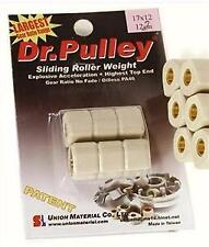 Dr Pulley Sliding Variator Rollers Weight 21 x 17 mm 10g Automatic Scooter