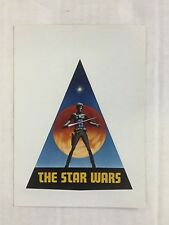 "Rare Vintage 1976 ""THE STAR WARS"" Sticker from SDCC, FREE SHIPPING"