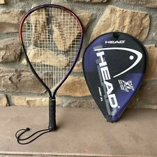 New listing Head Fury XL Pryamid V Aluminum Racquetball Racket 3 5/8 With Cover