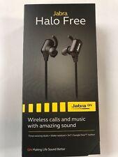 Brand New Jabra Halo Free Bluetooth Earbuds Black Calls Music Wireless Headset