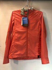 New Shimano Women's Transit Windbreak Jacket Red Cycling Size Medium