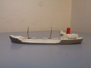 WIKING GERMANY VINTAGE 1950'S FREIGHTER 1:1250 VERY RARE ITEM VERY GOOD COND.