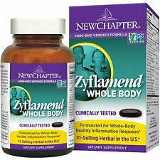 Zyflamend Whole Body, 120 Softgels - New Chapter