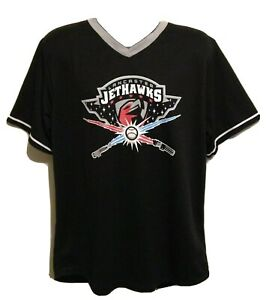 New Lancaster JetHawks #15 Star Wars Lightsabers SGA Baseball Jersey XL