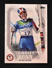 2018 Topps US Winter Olympics Base #US-4 Lindsey Vonn