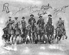 The Magnificent 7 signed by all 8X10 photo picture poster autograph RP