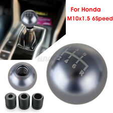 6 Speed Aluminum Car Manual Gear Shift Knob Round Ball Type-R For Honda Civic