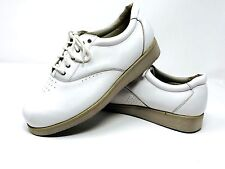 Mt. Emey white comfort orthopedic oxfords shoes Size 10.5 B Men B/AAA Leather