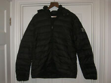Ruinart Champagne Black Quilted Rain Jacket Size Medium New in Bag Very Rare