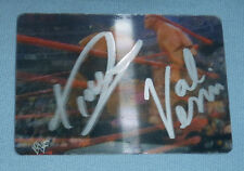 Val Venis Rikishi Phatu Signed WWF WWE 2001 Artbox MotionCardz Card #2 Autograph