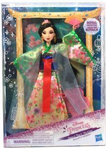 Hasbro Disney Princess Dream It Play It Mulan Royal Collection Doll Age 3 & Up