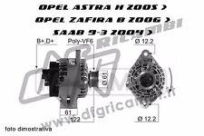 ALTERNATORE OPEL ASTRA H ZAFIRA B SAAB 9.3 1.9 CDTI 120 - 150 CV - 71746673